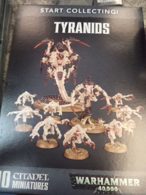 Start Collecting Tyranids Warhammer 40k 40,000 Games Workshop Model New