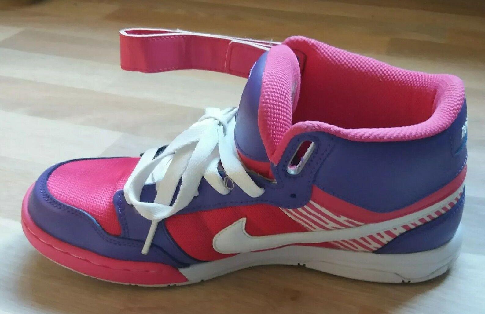 Mères Jour Cadeau Rare Unique Femme'S Nike I.D Baskets Rose Rose Rose Violet BEST MUMMY d18c2f