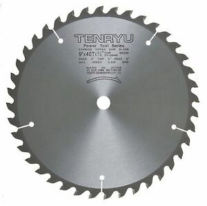 Tenryu Pt 23040 9 Inch 40t Miter Or Table Saw Blade