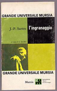 JEAN-PAUL-SARTRE-034-L-039-INGRANAGGIO-034-PRIMA-EDIZIONE
