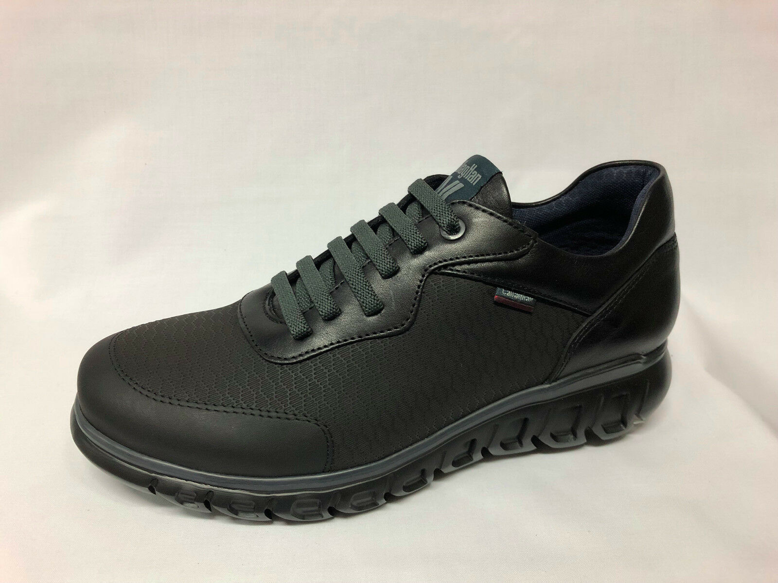 shoes Sneakers Callaghan 12900 pelle nera listino - 20%