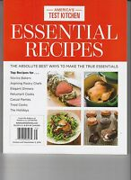 Cook's Illustrated Essential Recipes From America's Test Kitchen 2016
