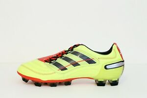 Gallina Complaciente Posible  NEW - ADIDAS PREDATOR X TRX FG - ELECTRICITY BLACK RED - LEATHER - SZ 11 US  | eBay