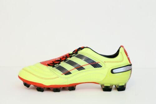 Rojo X Electricidad Nuevo 11 Trx Sz Negro Cuero Us Predator Adidas Fg wgna0q4pa