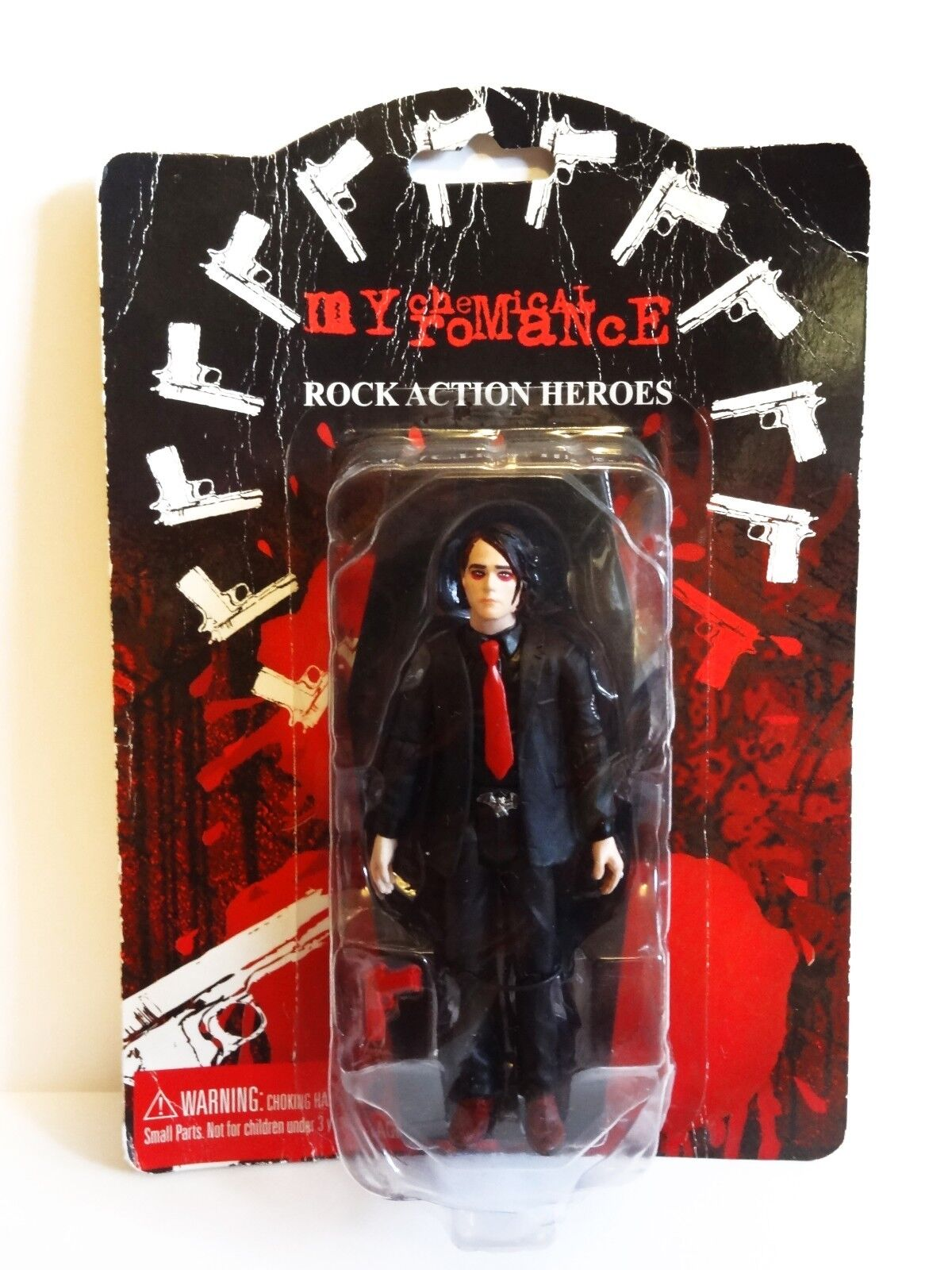 My Chemical Romance Gerard Way Boxed Action Figure Lead Singer Vintage Rare MCR