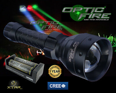Night Vision 丨Infrared Zoomable with with T67 LED Hunting NV IR Torch 3W 810nm