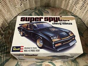 Details about SUPER RARE! Revell '78 Chevy Monza IMSA Super Spider model  car kit