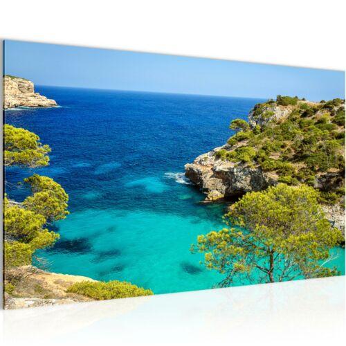 Murales imágenes XXL paisaje marino tela imagen del lienzo son impresiones artísticas 610114p
