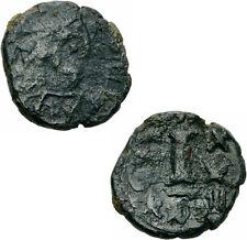 Byzanz Justinian I Decanummium Kyzikos 548/549 Cyzicus 10 Nummion Kreuz Sear 205