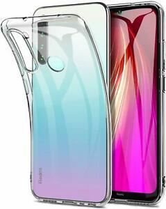 Per Xiaomi Redmi 9 8A 9 8T 8 Note Pro ANTIURTO TRASPARENTE COVER CUSTODIA IN SILICONE