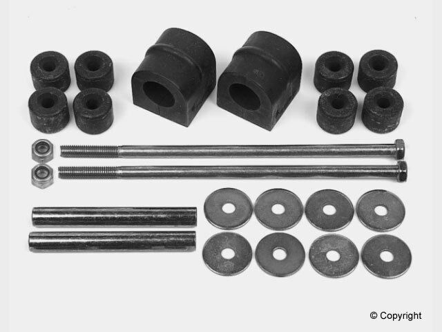 MERCEDES BENZ FRONT STABILIZER / SWAY BAR BUSHING MOUNT KIT 1153200047