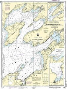 NOAA Chart Chaumont, Henderson and Black River Bays 17th Edition 14811