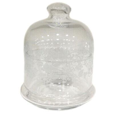 Consegna Veloce Piatto Con Campana Provence Alzatina Cupola Mm 76 Vetro Trasparente Giosal I Clienti Prima Di Tutto
