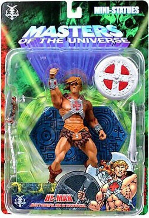 NECA Amos del universo he-man exclusiva estatua Mini