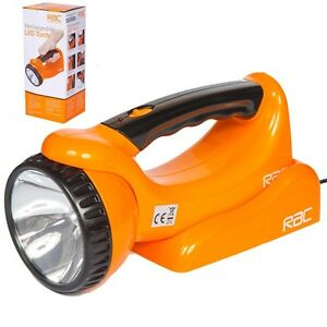 Rac rechargeable torch
