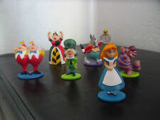 ALICE IN WONDERLAND SOLID FIGURE SET 5-7 CM NEW UK SELLER SET OF 6 PCS