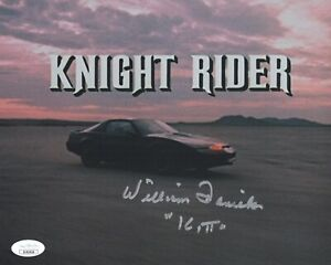 William-Daniels-Signed-KITT-Knight-Rider-8x10-Photo-IN-PERSON-Autograph-JSA-COA