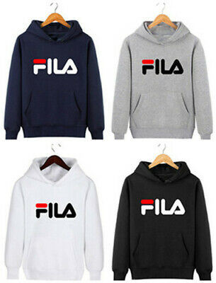 Gosha Rubchinskiy FILA Hoodie Kapuzen Pullover Herren Damen Zipper Sweatshirts | eBay