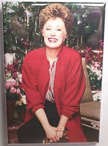 "Golden Girls Dorothy Vintage Photo 2/"" x 3/"" Refrigerator Locker MAGNET"