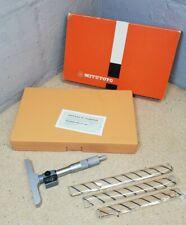 Mitutoyo 229 115 0 To 100mm Digital Depth Micrometer In Box New Metric