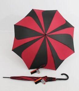 PIERRE CARDIN Glockenschirm Regenschirm Sunflower schwarz Stockschirm für Damen