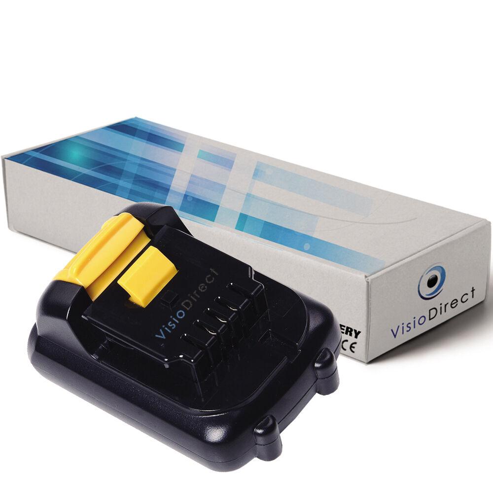Batterie 10.8V 1500mAh 1500mAh 1500mAh pour Dewalt DCF610 - Société Française - 87a071