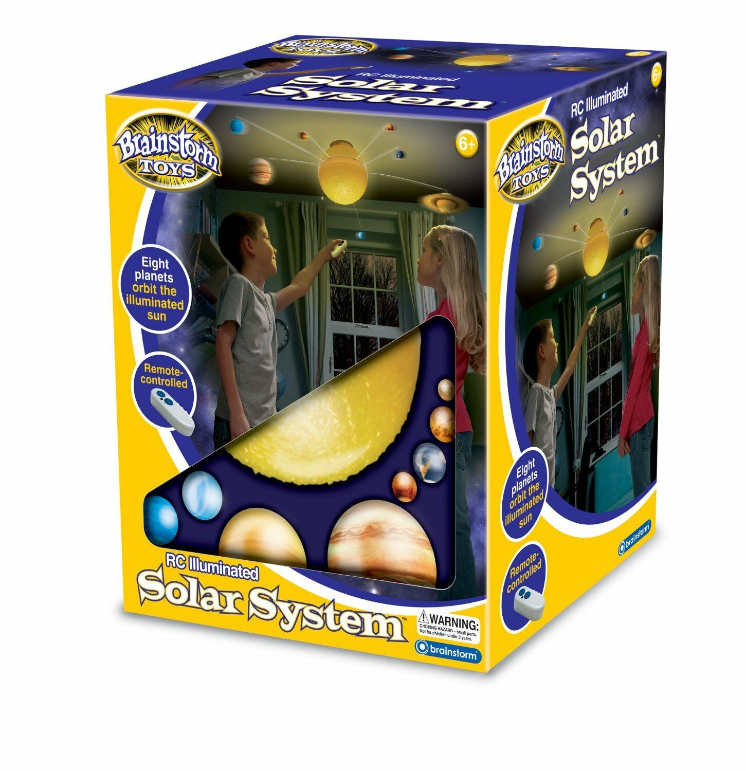 Brainstorm Toys RC Illuminated Solar System