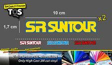 SR Suntour pegatina sticker shox decal aufkleber 3M 50 adesivi autocollant bike