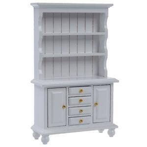 1-12-Dollhouse-Miniature-Furniture-Multifunction-Wood-Cabinet-Bookcase-C4P5