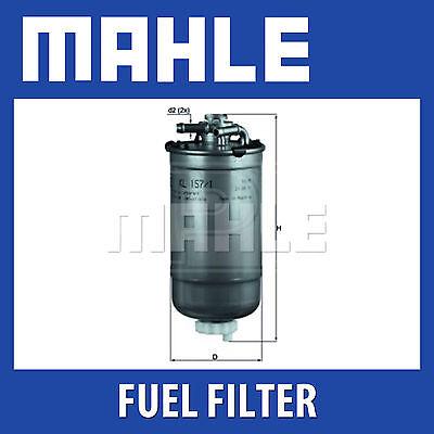 Mahle filtre à carburant KL157//1D vw polo-pièce d/'origine s/'adapte seatt ibiza