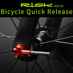1 Pair Titanium Quick Release Skewers MTB Road Bike Cycling Bicycle Hub Lever