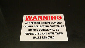 Funny-Golf-Balls-Sign-ANYONE-CAUGHT-COLLECTING-GOLF-BALLS-PRESENT-husband-dad