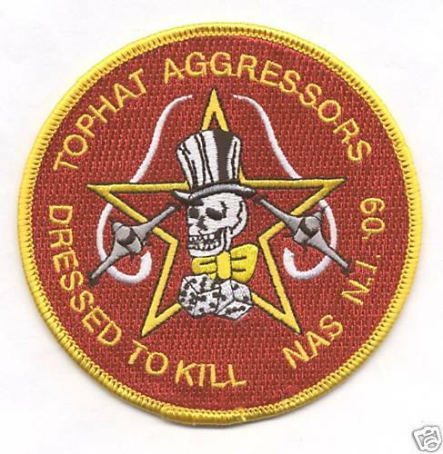 2009 patch 310th FIGHTER SQ TOPHAT AGGRESSORS NAS N.I