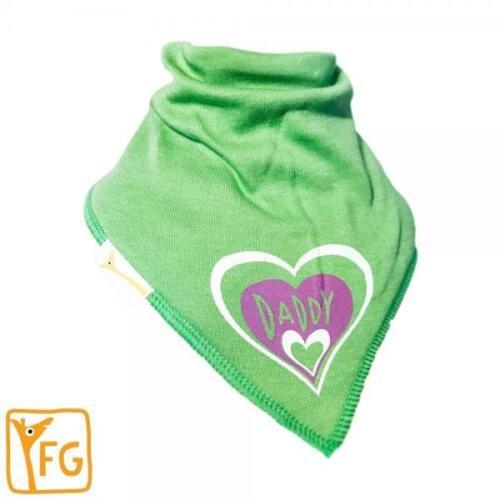 Funky Giraffe Green I Love Daddy Bandanna Bib  **Buy 4 get 1 FREE** 5 for £11.96