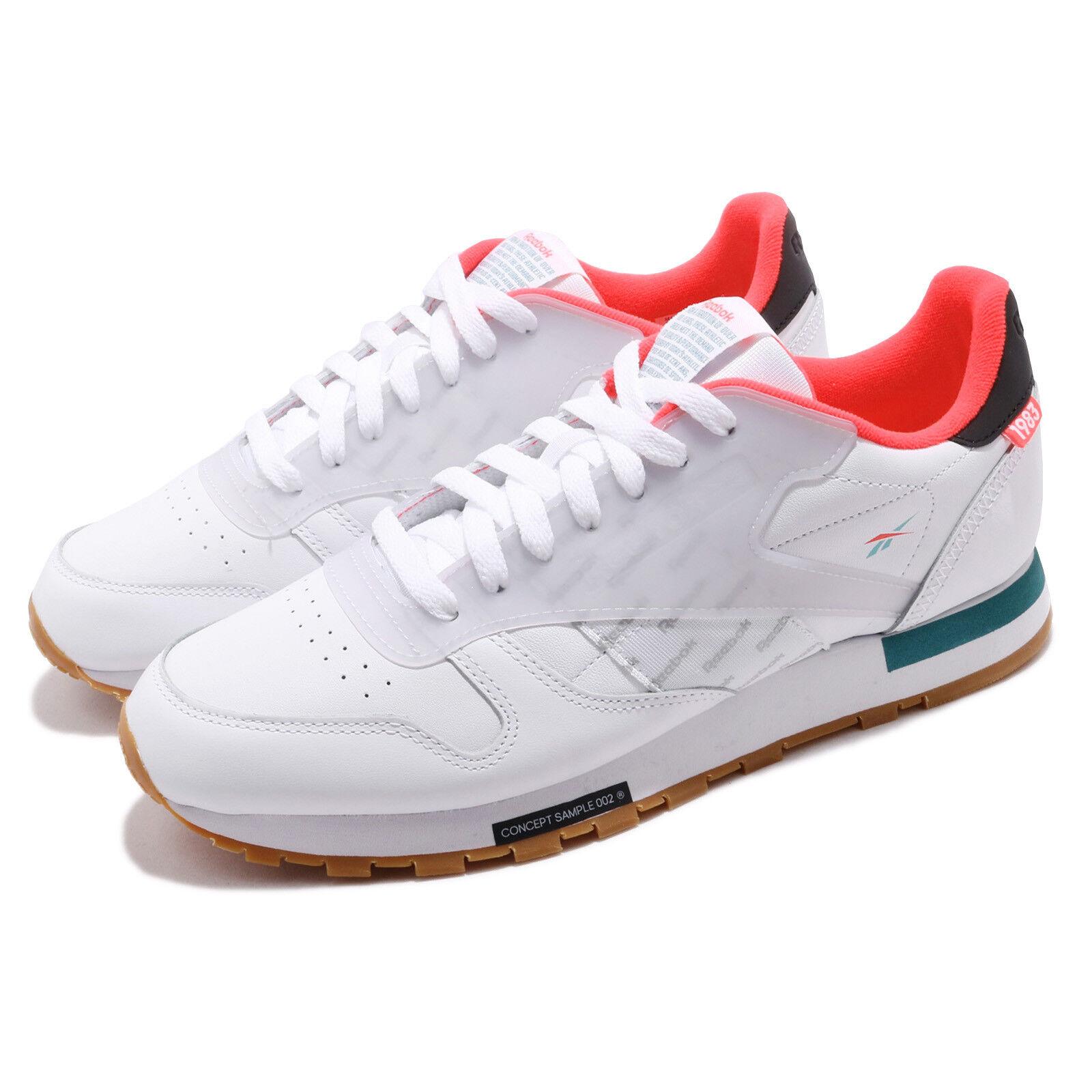 Reebok Classic cuir Alterouge ATI blanc rouge Mist Gum Hommes chaussures paniers DV5239