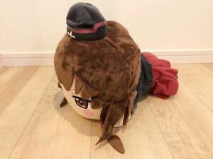 Girls-und-Panzer-mega-jumbo-Nesoberi-Plush-Stuffed-toy-Nishizumi-Maho