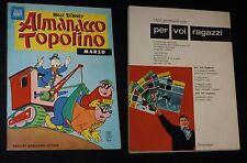 ***ALMANACCO TOPOLINO*** N.3 (FEBBRAIO 1963) CON FIGURINE !!!
