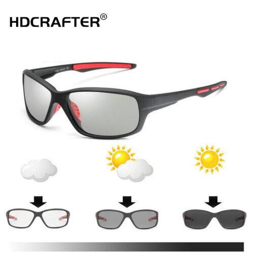 Men Polarized Photochromic Sunglasses Transition Lens UV400 Driving Glasses Hot