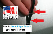 Edge TRIM  ((MADE IN THE USA!))CAR TRUCK SUV  GLOSS BLACK DOOR EDGE GUARDS