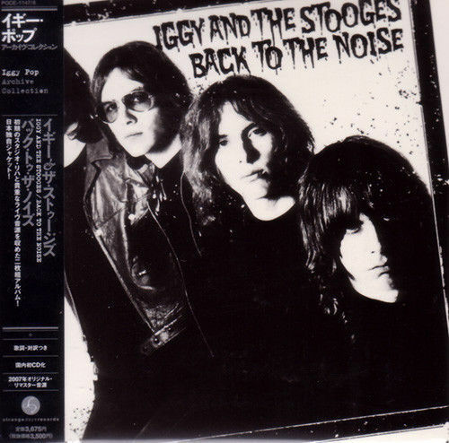 IGGY & THE STOOGES-BACK TO THE NOISE (JAPANESE SPECIAL...-JAPAN 2 MINI LP CD I19