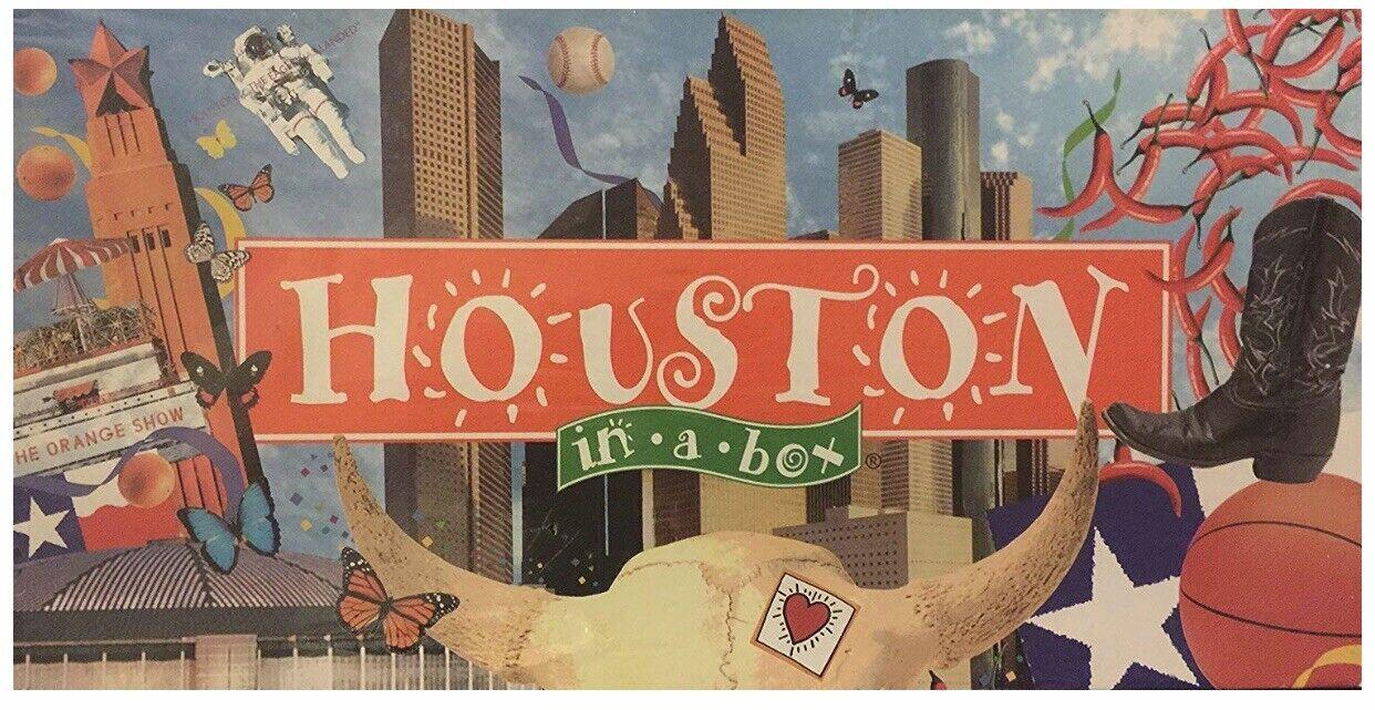 Houston in A Box Game Landmark Edition