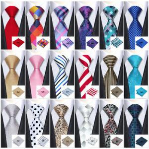 New Classic Men's Tie 40 Color 100% Silk Necktie Set Jacquard Woven Neck tie set