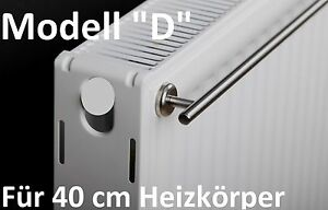 d handtuchhalter f r 40 cm heizk rper mit magnethalterung edelstahl heizung ebay. Black Bedroom Furniture Sets. Home Design Ideas