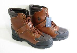 23af4d74af9 Details about US Polo Assn Crusade 2 Men's Boots 216188F74 Size 11 EUR 45  UK 10 Brown Black