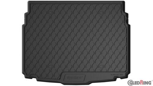 inkl Boden unten Stoßstangenschutz Gummi Kofferraummatte für VW T-Roc ab 2017
