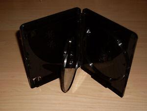 20-Blu-Ray-Hullen-Dreifach-3fach-Schwarz-4K-Ultra-HD-Logo-15mm-f-3-Blu-Rays-Neu