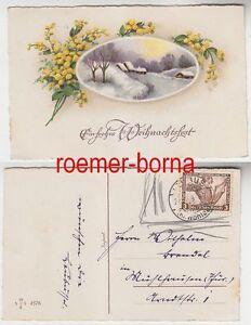 76862-Weihnachts-Ak-mit-Frankatur-3-Pfennig-Tannhaeuser-1933