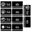 miniature 4 -  SCP Foundation Keycards sticker pass 10pcs PLASTIC CARD cosplay games gift