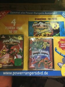 Power Rangers Mystic Force 2 Heft DVD Powerkarte Power-Karte Sammelschuber - Deutschland - Power Rangers Mystic Force 2 Heft DVD Powerkarte Power-Karte Sammelschuber - Deutschland