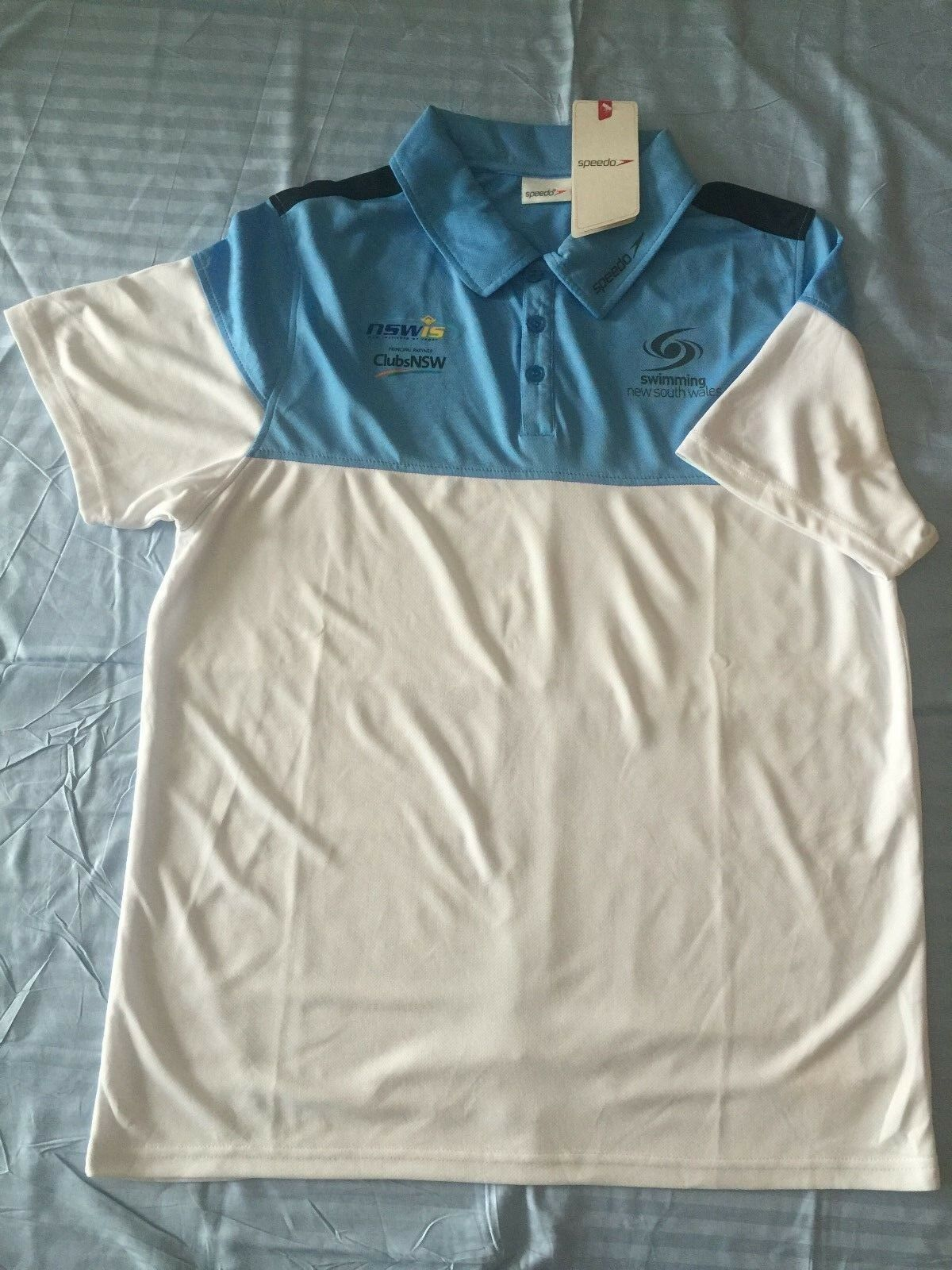 Genuine Australian Brand Swimming Team New South Wales NSW Club Polo T-Shirt